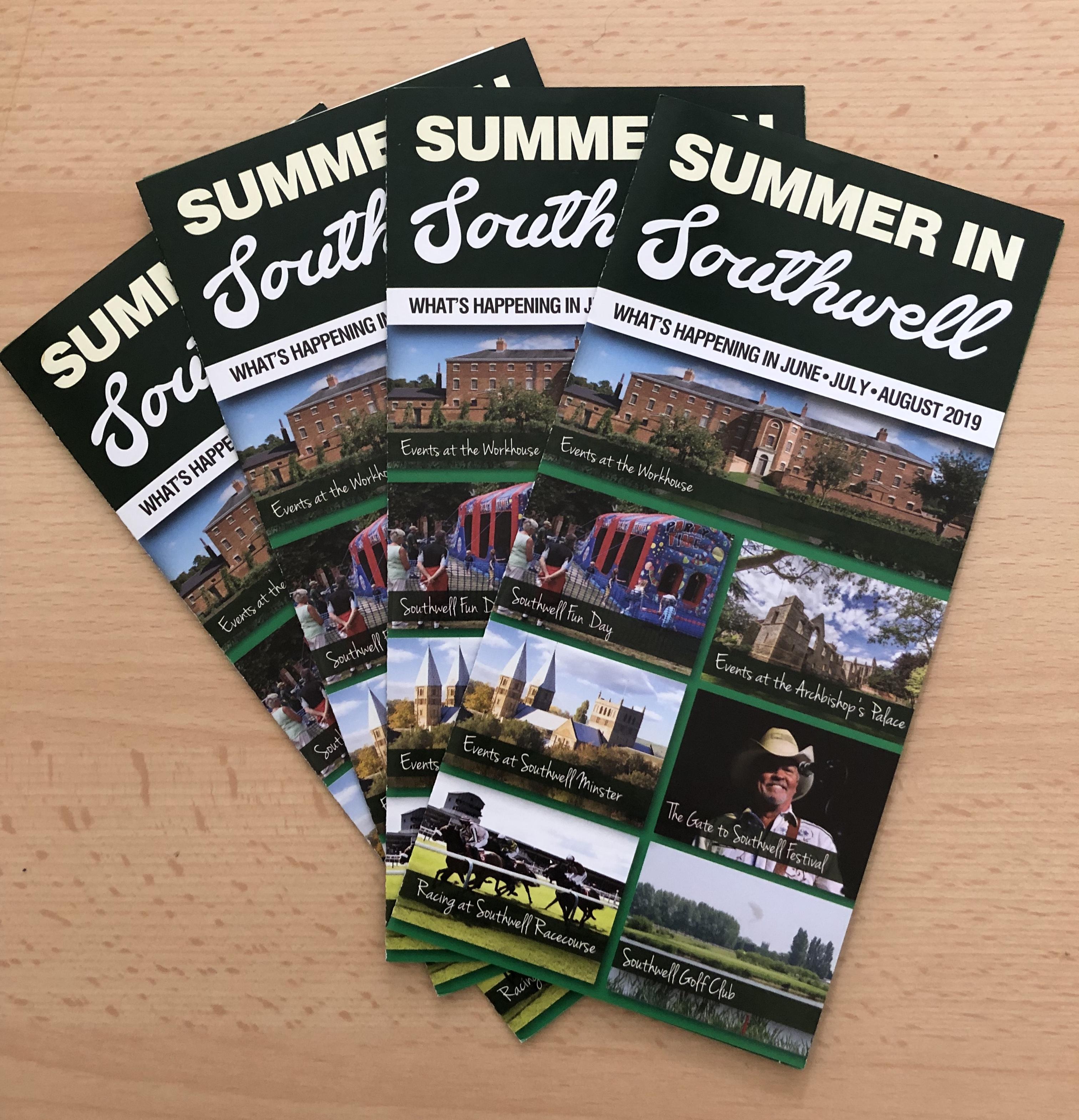 Summer in Southwell Leaflet